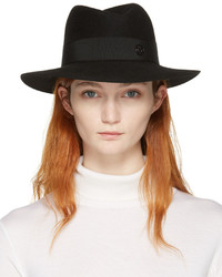 Sombrero Negro de Maison Michel