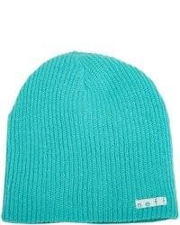 Sombreros y gorros en verde azulado