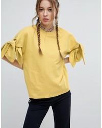 Sudadera amarilla de Asos