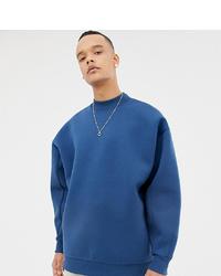 Sudadera azul de ASOS WHITE