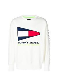 Sudadera blanca de Tommy Jeans