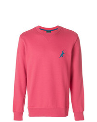 Sudadera bordada rosa de Ps By Paul Smith