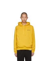 Sudadera con capucha amarilla de Burberry