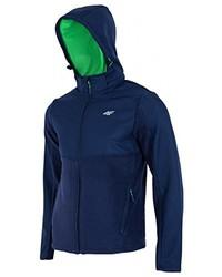 Sudadera con capucha azul marino de 4F