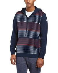 Sudadera con capucha azul marino de adidas