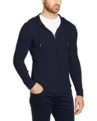 Sudadera con capucha azul marino de Esprit