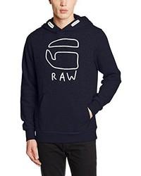 Sudadera con capucha azul marino de G-Star RAW