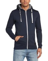 Sudadera con capucha azul marino de Minimum