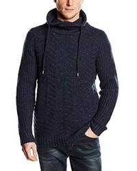 Sudadera con capucha azul marino de s.Oliver Denim
