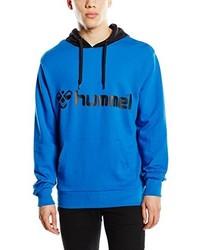 Sudadera con capucha azul de Hummel