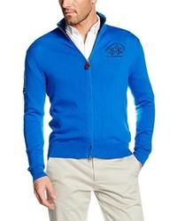 Sudadera con capucha azul de La Martina