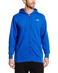 Sudadera con capucha azul de New Balance