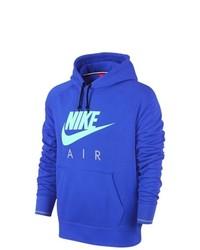 Sudadera con capucha azul de Nike