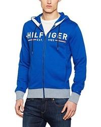 Sudadera con capucha azul de Tommy Hilfiger