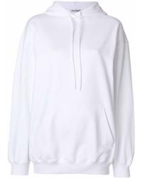 Sudadera con capucha blanca de Balenciaga