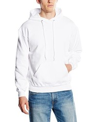 Sudadera con capucha blanca de Fruit of the Loom