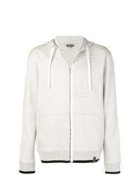 Sudadera con capucha blanca de Lanvin