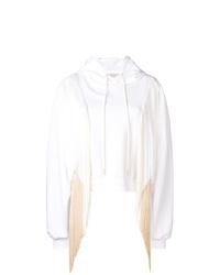 Sudadera con capucha blanca de Stella McCartney