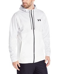Sudadera con capucha blanca de Under Armour