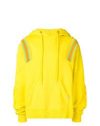 Sudadera con capucha en amarillo verdoso de Facetasm