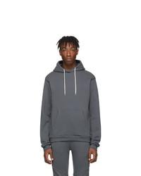 Sudadera con capucha en gris oscuro de John Elliott