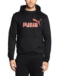 Sudadera con capucha en gris oscuro de Puma