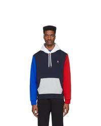 Sudadera con capucha en multicolor de Polo Ralph Lauren