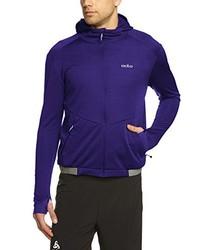 Sudadera con capucha en violeta