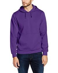 Sudadera con capucha en violeta de Clique