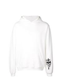 Sudadera con capucha estampada en blanco y negro de RtA
