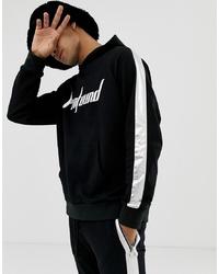 Sudadera con capucha estampada en negro y blanco de Profound Aesthetic