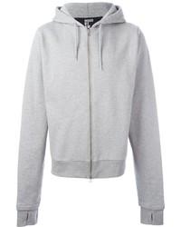 Sudadera con capucha estampada gris de Hood by Air