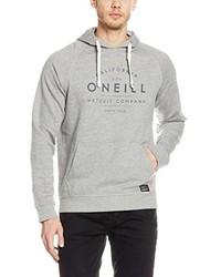 Sudadera con capucha estampada gris de O'Neill