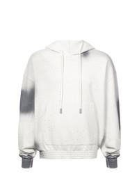 Sudadera con capucha estampada gris de Off-White