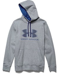 Sudadera con capucha estampada gris de Under Armour