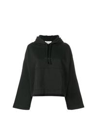 Sudadera con capucha estampada negra de Acne Studios