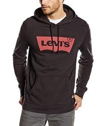 Para Hombres Capucha Una Comprar Con Moda Sudadera Levi's Negra wFtHC