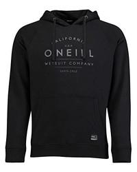 Sudadera con capucha estampada negra de O'Neill
