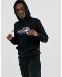 Sudadera con capucha estampada negra de The North Face