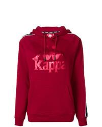 Comprar una sudadera con capucha roja Kappa | Moda para