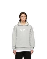 Sudadera con capucha gris de A.P.C.