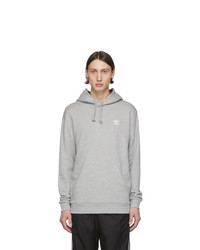 Sudadera con capucha gris de adidas Originals