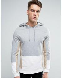 Sudadera con capucha gris de Asos