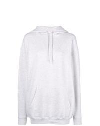 Sudadera con capucha gris de Balenciaga