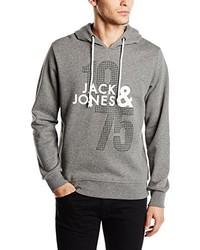 Sudadera con capucha gris de Jack & Jones