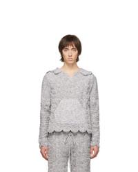 Sudadera con capucha gris de Judy Turner