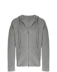 Sudadera con capucha gris de Lanvin