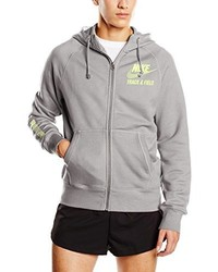 Sudadera con capucha gris de Nike