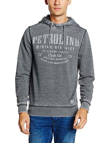 Sudadera con capucha gris de Petrol Industries