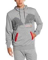 Sudadera con capucha gris de Puma
